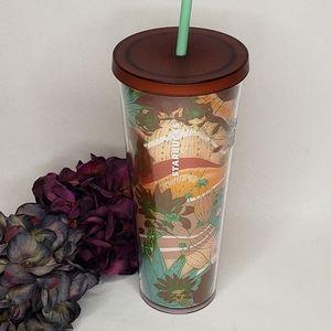 Starbucks Terracotta Catcus Cold Cup Tumbler